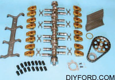Ford Cylinder Heads and Valvetrain Interchange: Small-Block 31