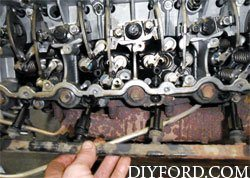Ford Power Stroke 6.0L Engine Removal and Disassembly f5