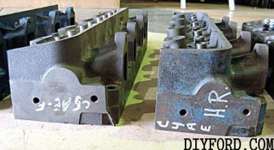 How to Choose Ford FE Engine Factory Cylinder Heads 6