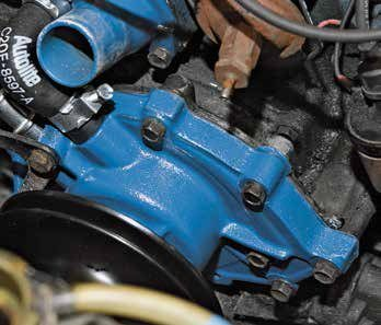 Small Block-Ford Cooling System and Front Dress Parts