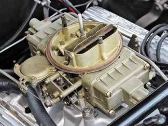 1966 mustang manual choke