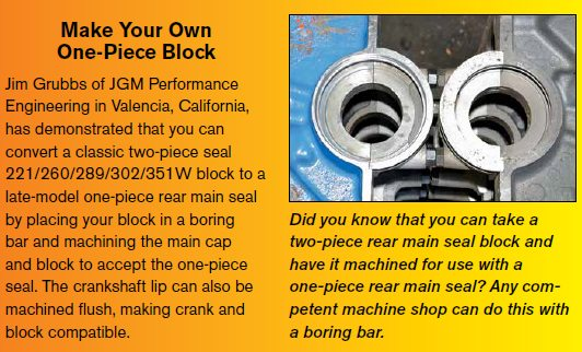 Engine Block Parts Interchange for Small-Block Ford