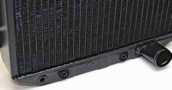 Before you purchase a reproduction radiator or have your existing radiator re-cored, think about automatic transmission fluid cooling. Make sure you order a radiator for an automatic transmission vehicle, even though most already have the cooler.