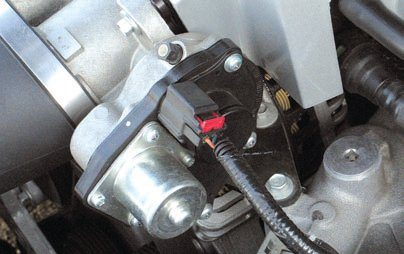 Newer Modular engine applications have driveby-wire technology with throttle actuator motors instead of throttle cables. Expect to see coil-on-plug ignition without spark plug wires.