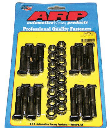 Rather than depending on 50-year-old hardware, I have chosen to use new, high-quality fasteners, such as these connecting rod bolts by ARP, throughout both engine builds, stock, and performance.