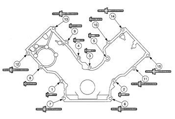 ford 5 4 valve cover parts diagram  ford  auto parts