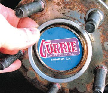 When combining components from different manufacturers, it may be necessary to make a few adjustments. For example you need to know whether the centering ring for an OEM Ford axle works with an aftermarket axle (such as this one by Currie). There may be times when a special centering ring or similar component needs to be specially made/matched to the combination of components being used.