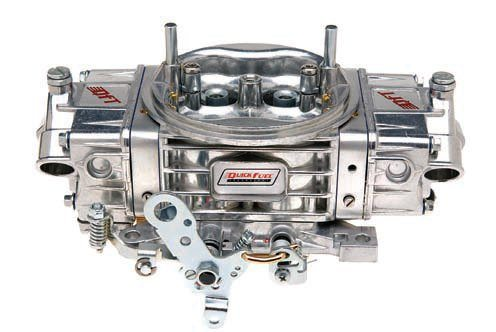 Quick Fuel Technology (QFT) offers several different series of carbs. The HR (hot rod) series is available in CFM ratings ranging from 580 to 780 for models with vacuum secondaries and 600 to 850 for those with mechanical secondaries. These carbs are aluminum and use separate float bowls and metering blocks. They use four-corner idle, screw-in idle feed restrictors, and air bleeds. They also have glass fuel-level windows and adjustable center-hung floats. The vacuum secondary models allow for adjustment using only hand tools with no need for an assortment of springs or the risk of torn diaphragms. (Photo Courtesy Quick Fuel Technology)