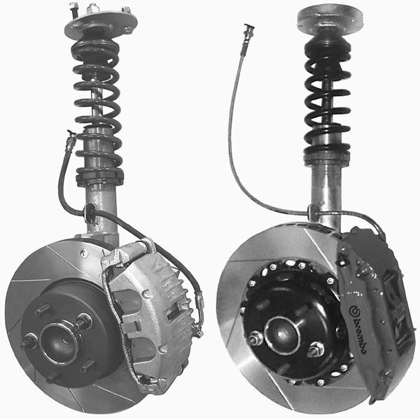 revelation racing supplies (rrs) offers different levels of front suspension  systems for shock-