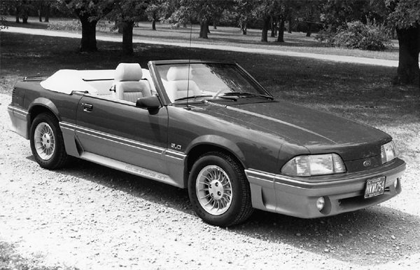 Convertibles need plenty of structural support underneath when power increases. It's a good idea to install a roll bar as well.