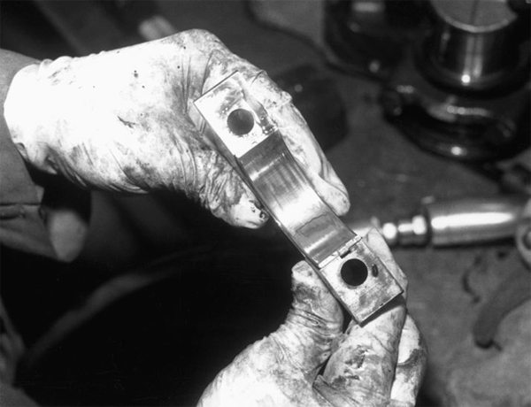 Wear patterns in bearings tell us a lot about a block's integrity, not to mention the condition of its internals. Unusual wear patterns may indicate the need for line boring or a replacement crankshaft. Examine these areas closely during disassembly.