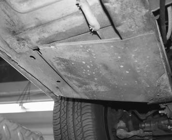 In 1967, Ford added torque boxes to the Mustang driver's side footwell, tying the frame rail to the rocker panel. This sheet of metal added strength to the unitized frame on the driver's side to help with side impacts. Adding one on the passenger side would add rigidity to the unibody