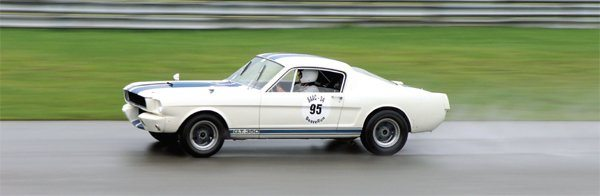 GT350 competition cars—the R-models—blasted their way to three consecutive SCCA National TItles.