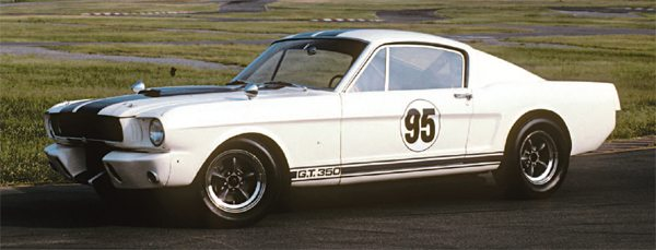 """The GT350's reason for being, the factory competition model—known today as simply the """"R-Model."""" By serial numbers, 5R095 was the second production competition model built, but it was actually the fourth shipped, which illustrates that when talking about Shelby Mustangs, terms like """"first"""" and """"last"""" can have multiple meanings."""