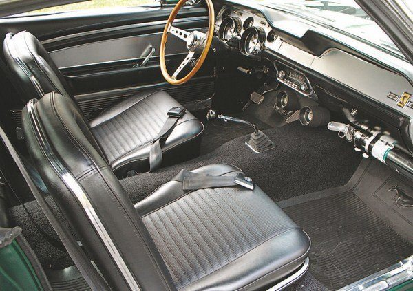 Shelby mustang history 1967 gt350 gt500 a longer shelby for 1967 mustang interior pictures
