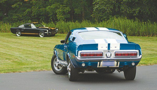 For 1968, Hertz and Shelby once again teamed up but on a much less grand scale than two years before. The 230 or so GT350s (all standard off-the-shelf Shelbys with automatic transmissions, power steering, and air conditioning) were nothing like the Hertz-only GT350H of 1966. There were no special Hertz-only cars produced for the rental company in 1968.
