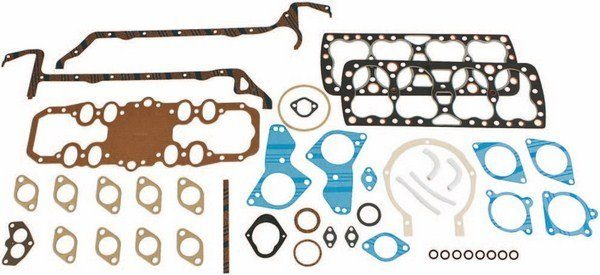 A number of suppliers, including Best Gasket, offer gaskets. They can be purchased as a set (shown) or individually. Head gaskets can be found in various bore sizes, from stock up to .145 oversize.