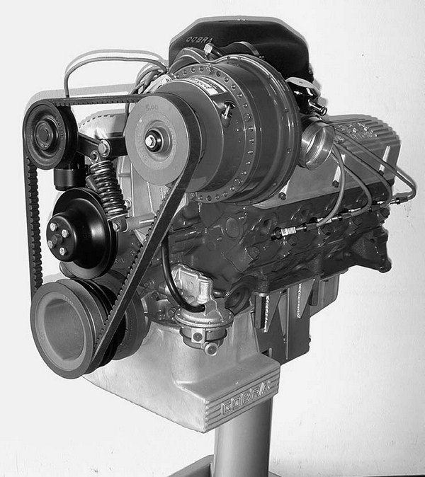 Small-block Mustangs and Shelby's were available with a Paxton centrifugal supercharger in the later 1960s. The entire carburetor was simply enclosed in a box.