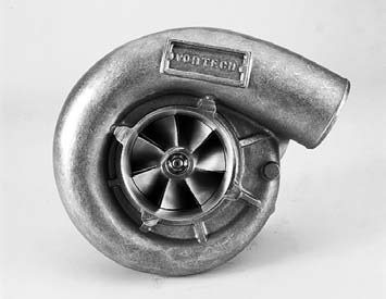 """Vortech's """"V"""" Series of gear-driven street superchargers began with the V-1A trim (shown here). The design has since evolved all the way up to the Vortech V-9 gear charger. Visit www. vortechsuperchargers. com for specific types, applications, and part numbers."""