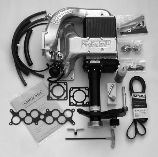 This is an overview of Kenne Bell's 1986-1995 5.0L-based twin-screw supercharger kit for the Fox generation Mustang with 2.2L Blowzilla supercharger upgrade. With 50 percent more capacity, Blowzilla is capable of producing the big (boost) numbers ranging from 8 to 20 psi. This kit is 50- state-emissions-legal.