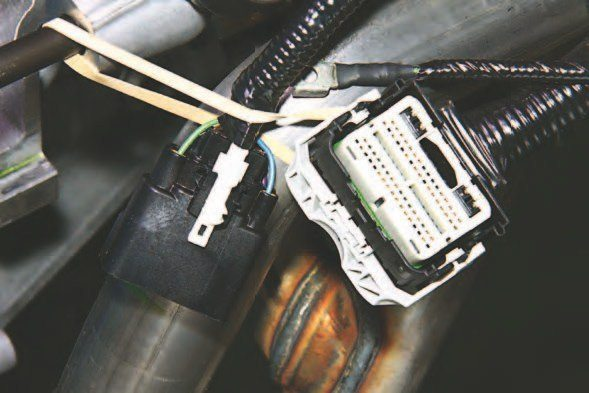The 5.0L Ti-VCT Coyote and sibling Voodoo is a plug-and-play electronics package. These two weathertight multiplex connectors plug right into the electronic engine control harness and PCM/ECU. If you're performing a swap on a vintage Ford or perhaps a 1979–1993 Fox-body Mustang, Ford Performance Racing Parts makes short work of a Coyote swap with a complete package and detailed instructions. This means complete, easy-to-install engine and transmission packages shipped right to your door. It has never been easier to perform an engine swap.